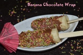 Banana Chocolate Wrap