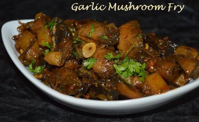 Garlic Mushroom Fry