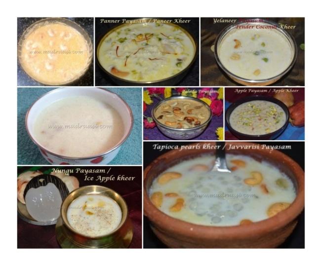 10+ Payasam Recipes