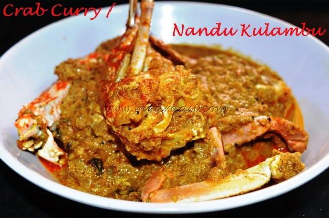 Crab curry / Nandu Kulambu - 2