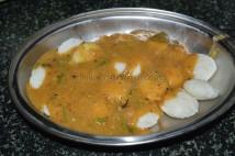 With sambar