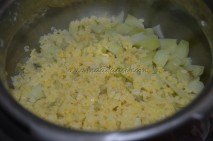 Pressure-cooked Chow-chow and split green gram dal