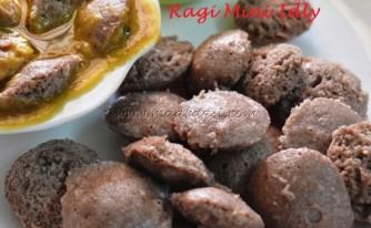 Mini Ragi Idly