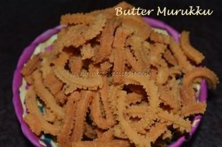 Butter Murukku / Butter Chakli