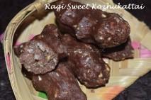 Ragi Sweet Pidi Kozhukattai
