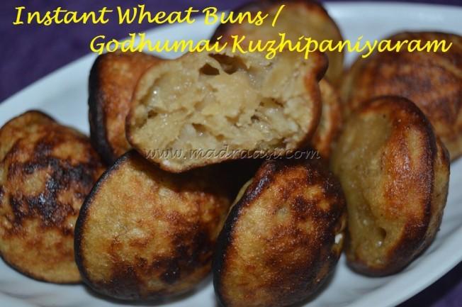 Instant Wheat Paniyaram