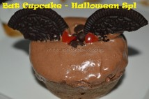 Bat CupCake – Halloween Special