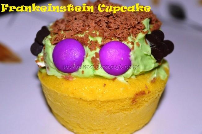 Frankeinstein Cupcake