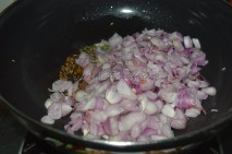 With small onions