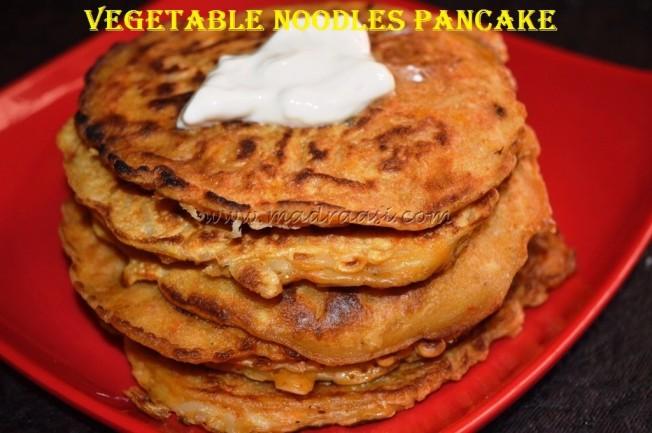 Vegetable Noodles Pancake
