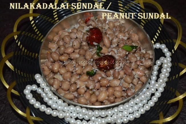 Nilakadalai / Peanut Sundal