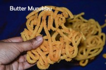Butter Murkku recipe / Benne Chakli / How to make vennai murukku / Easy Murkku recipe