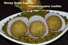 Mung Bean Laddu / Paasipayaru Laddu