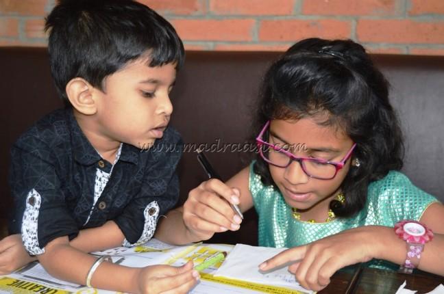 Kids having activity
