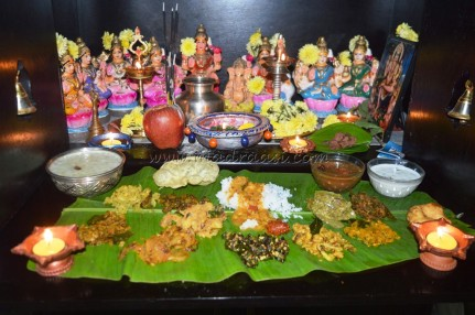 Kathigai Deepam platter - 2015