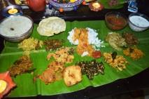 A south Indian Vegetarian Platter