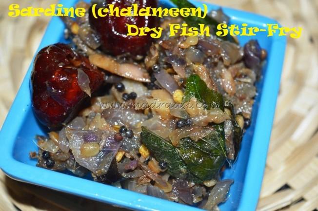 Sardine Dry Fish stir-fry