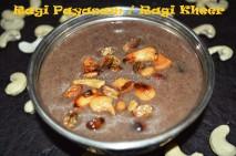 Ragi Payasam / Finger Millet Kheer