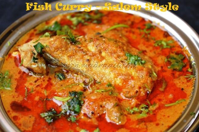 Fish Curry - Salem Style