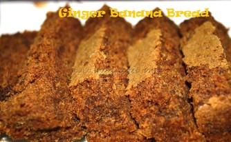 Ginger Banana Bread