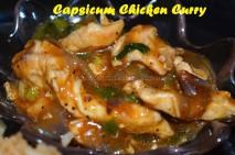 Capsicum Chicken Gravy - Chinese Style