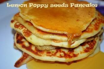 Lemon Poppy Seeds Pancake