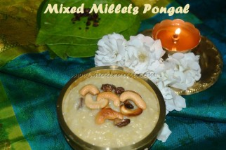 Mixed Millets Pongal