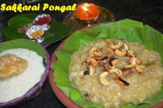 Sakkarai pongal - Tamilian Style