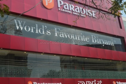 Food Review - Paradise
