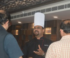 A Small discussion with their Corporate Chef. Vijay Anand Bakshi