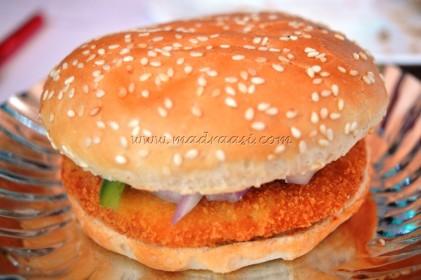 Hungry Bird chicken Burger