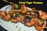 Fried Tiger Prawns