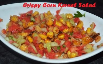 Crispy Corn Kernel Salad