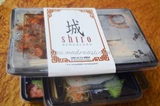 Food Review - Shiro, Bento Box