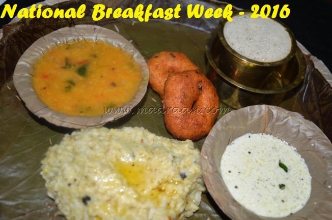 National Breakfast Week - 2016