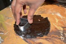 Getting shaped with cookie cutter