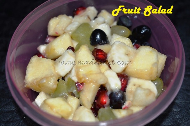 Fruit Salad - by KIDS