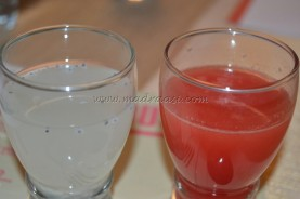 Tender Coconut and Water Melon Juice