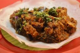 Appam with Mangalore Ghee Roast