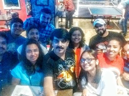 Selfie with Blogger friends - PC - Sudarshan