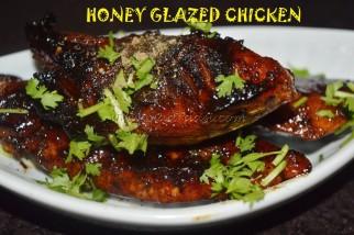 Honey Galzed Chicken