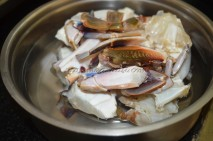 Cleaned crab