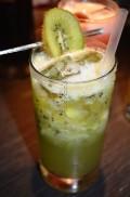 Kiwi and Lime Iced Tea