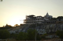 Jain Temple getting constructed