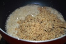 akhrot powder with ghee/clarified butter