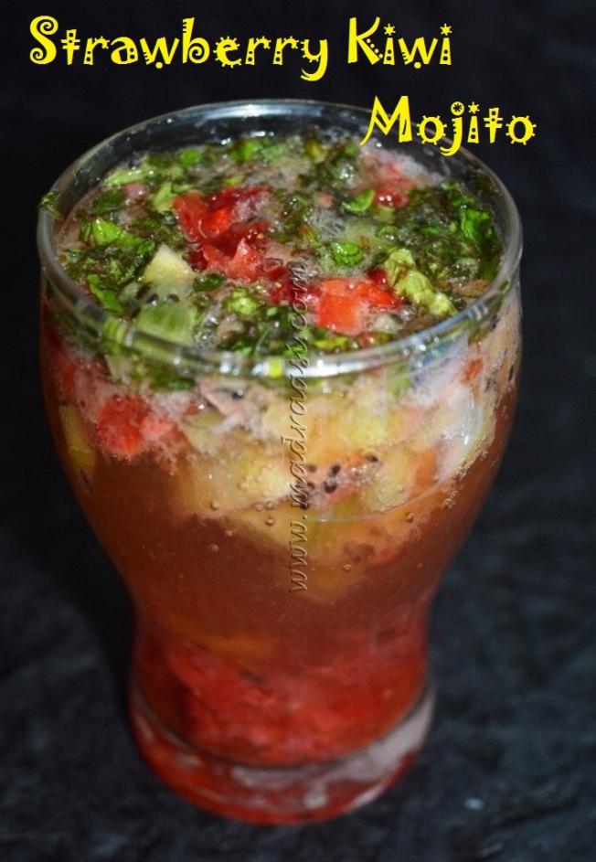 Strawberry Kiwi Mojito