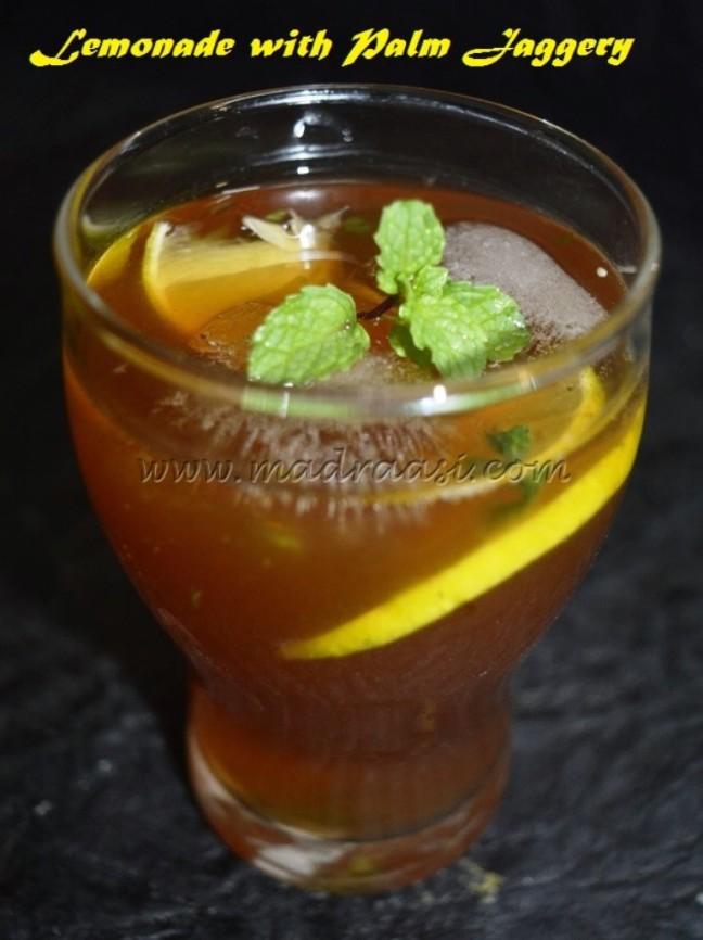 Lemonade with Palm Jaggery