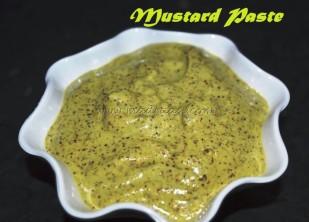 Mustard Paste