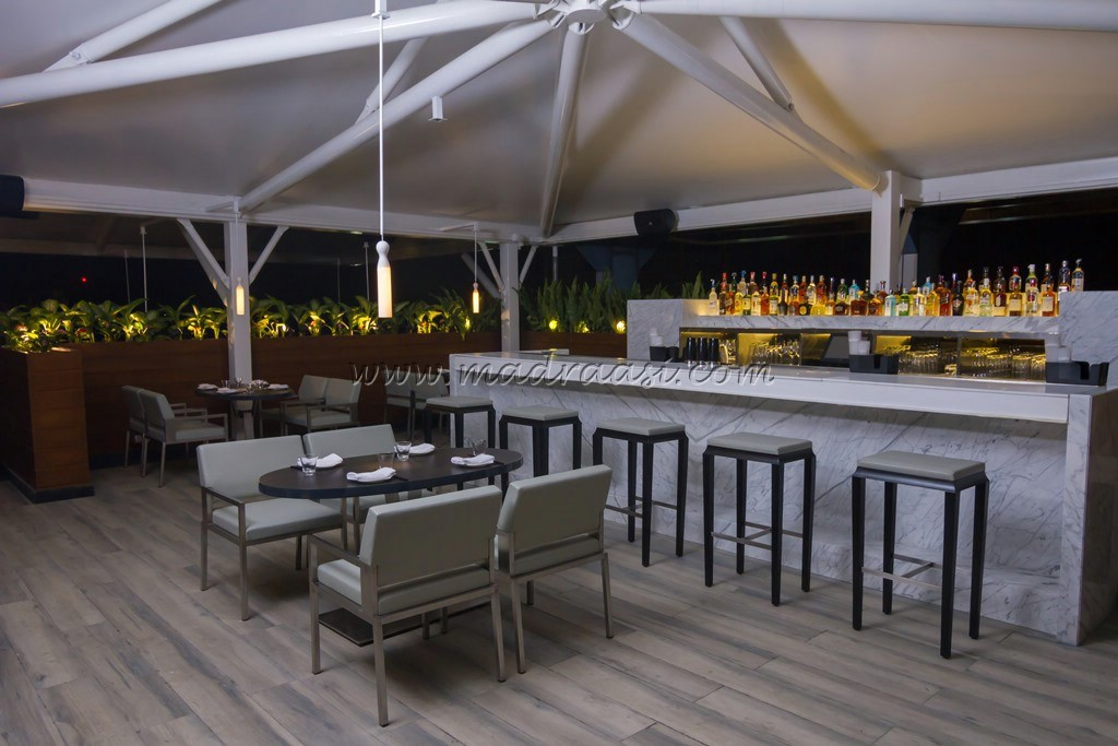 Food review yauatcha terrace the new rooftop bar for Terrace restaurants in bangalore