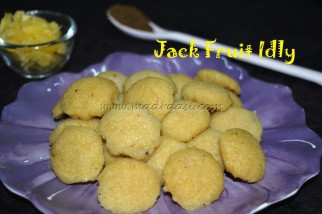 Jack Fruit Idly